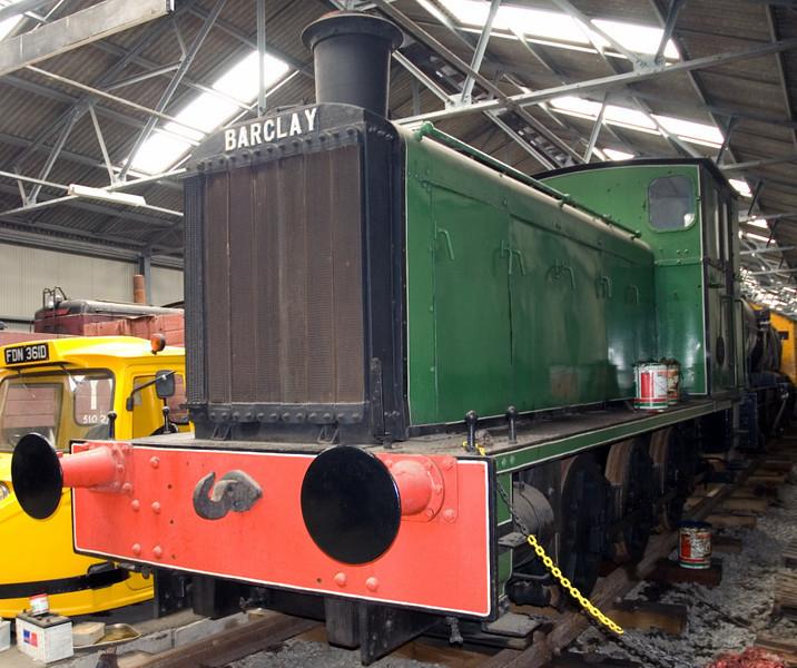 ICI Dalbeattie No 1, Bo'ness, 15 July 2007   Barclay 180hp diesel-mechanical 0-6-0, 343 / 1941.