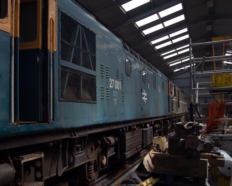 27001 (D5347) & D5394 (27050), Bo'ness, 15 July 2007