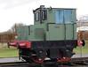 Tarmac, Quainton Road, 28 December 2012.  Hibberd 4wDM 3765 / 1955.