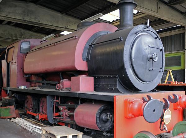 [Chislet], Quainton Road, 28 December 2012.  Yorkshire Engine Co 0-6-0ST 2498 / 1951.