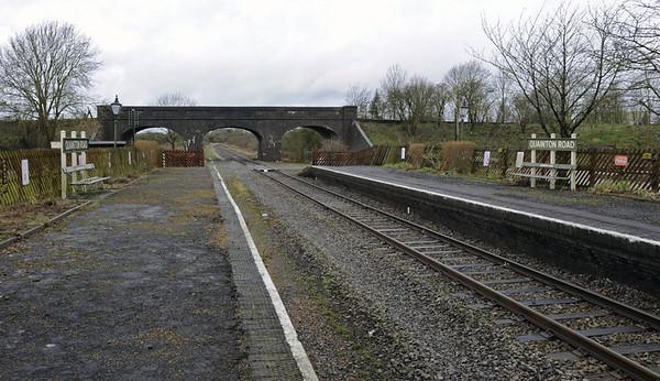 Quainton Road station, 28 December 2012 5. Looking towards Calvert.