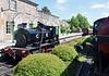 Barclay 1863 / 1926, Brechin, Sat 23 May 2015 3.  Taking water from a tank wagon.