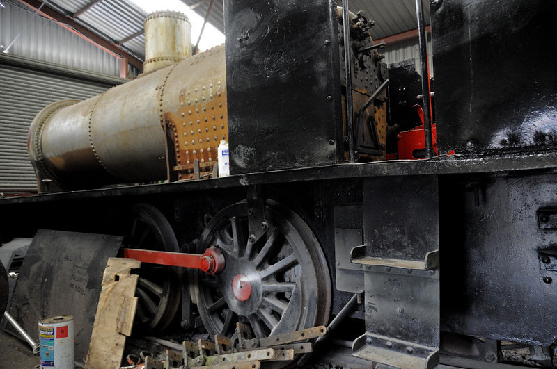 Norma, Hunslet 0-6-0ST 3770 / 1952, Oswestry, Fri 26 August 2011.