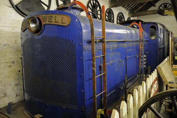 Hudswell Clarke 0-4-0DM D843 / 1954, Oswestry, Fri 26 August 2011.