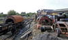 Three saddletanks, Oswestry, Fri 26 August 2011.