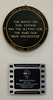 'Brief Encounter' plaques, Carnforth Station, Thurs 16 February 2012.  The station's claim to fame is its use in David Lean's classic film.