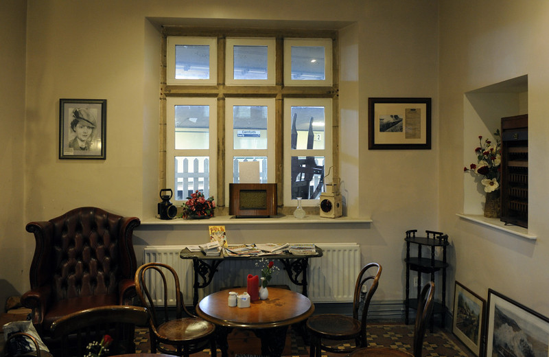 The snug, Carnforth Station, Thurs 16 February 2012.
