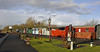 Brownhills West station, Sat 15 December 2012.  A last look at the Chasewater Rly.