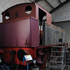 [Whit No 4], Brownhills West, Sat 15 December 2012. Hudswell Clarke 0-6-0T 1822 / 1949,  NB that the boiler is out.
