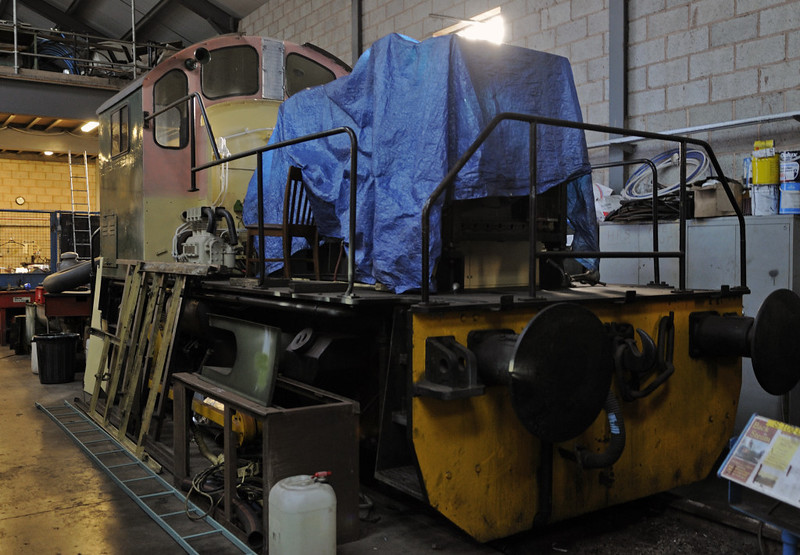 [Dealer], Brownhills West, Sat 15 December 2012.  Brush Bagnall 0-4-0DE 3097 / 1956