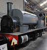 [Sheepbridge No 15], Brownhills West, Sat 15 December 2012.  Hudswell Clarke 0-6-0T 431 / 1895, the oldest surviving six-coupled loco from tihis Leeds builder.