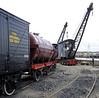 Wagons and cranes, Chatham dockyard, Sat 9 June 2012