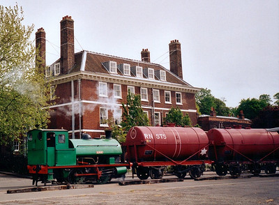 Chatham dockyard locos, 2012