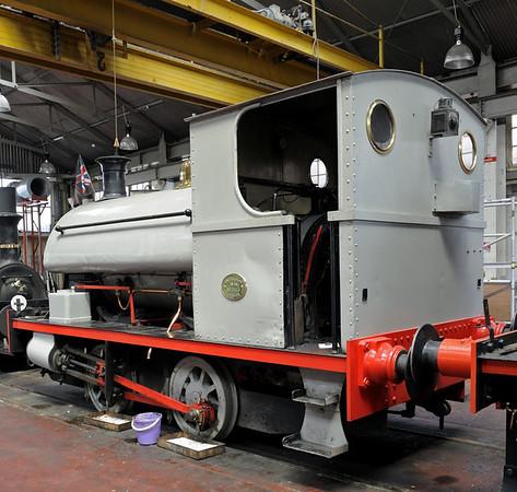 Peckett 1903 / 1936, Chatham dockyard, Sat 9 June 2012.