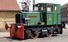 Yard No 562 Rochester Castle, Chatham dockyard, Sat 9 June 2012.  Hibberd 4wDM 3738 / 1955.