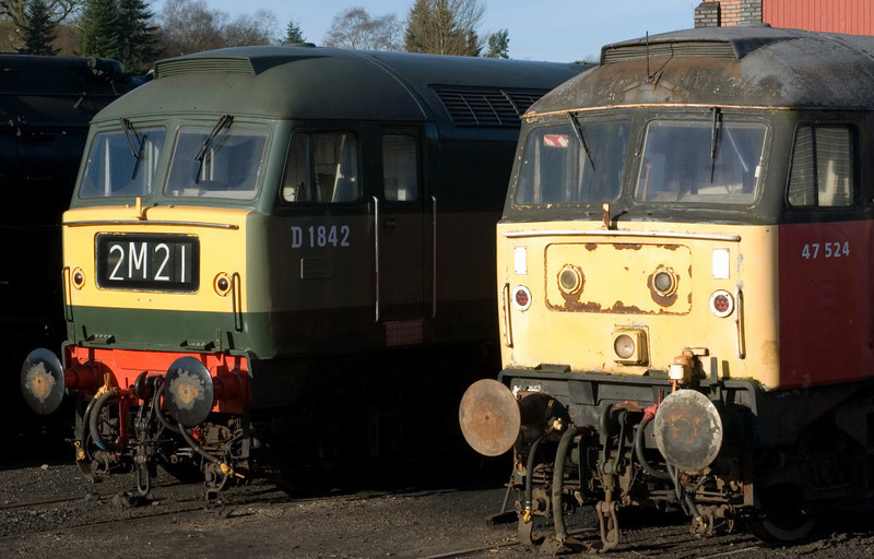 47192 & 47524, Cheddleton, 14 January 2007