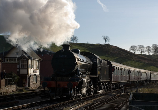 61994 The Great Marquess, arriving at Cheddleton, 14 January 2007 - 1230