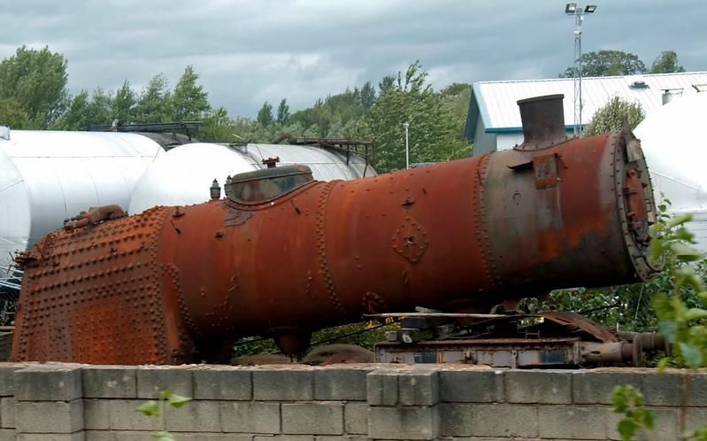 Hungarian State Railways (MAV) 411.337, Preston Riversway, 31 August 2009 2.