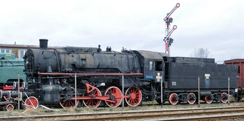 Polish State Railways (PKP) Tr 201-51, Jaworzyna Slaska, Poland, Sun 6 February 2011 1.  Lima 8823, originally USATC 5164.