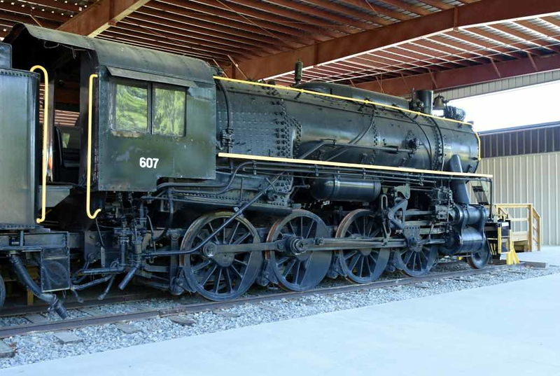 US Army Transportation Corps 2-8-0 607, USATC Museum, Fort Eustis, Virginia, 17 May 2017 2.
