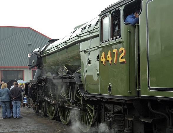 4472 Flying Scotsman, Crewe, 10 September 2005 1