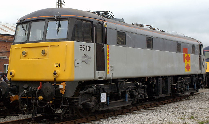 85101, Crewe, 10 September 2005