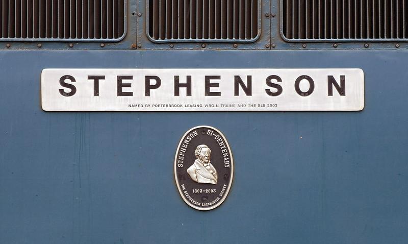 87001 Stephenson, Crewe, 10 September 2005 1