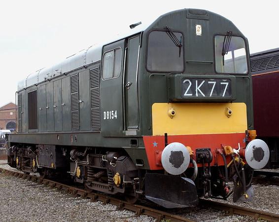 D8154 (20154), Crewe, 10 September 2005