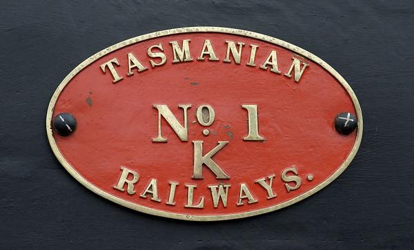 Tasmanian Railways 0-4-4-0T No K1, Crewe, 10 September 2005 3