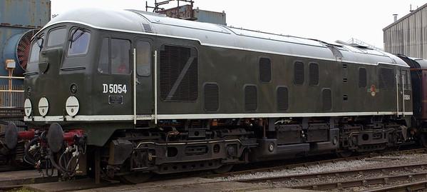 D5054 (24054), Crewe, 10 September 2005