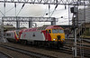57315 The Mole & 390027 Virgin Buccaneer, Crewe, 10 September 2005 1 - 1823.  Setting off for Holyhead