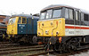 87001 Stephenson & 86213 Lancashire Witch, Crewe, 10 September 2005