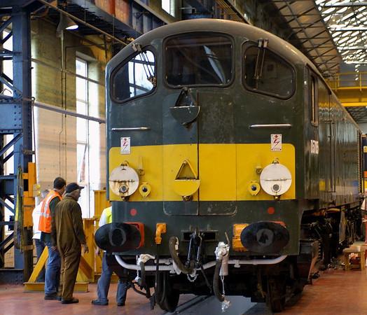 D5705, Crewe, 10 September 2005
