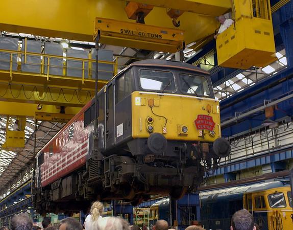 87035, Crewe, 10 September 2005