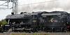 48151 & 61264, Carnforth, 8 September 2005 - 1238 1.  The 8F and B1 set off from Steamtown to Crewe for the open day.