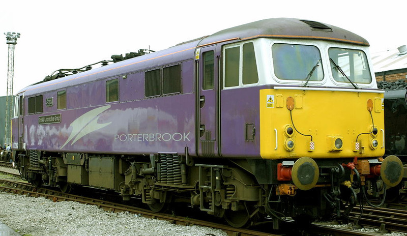 87002 The AC Locomotive Group, Crewe, 10 September 2005