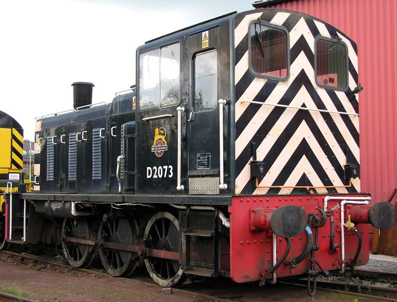 D2073 [03073 ], Crewe Railway Age, 14 August 2004.