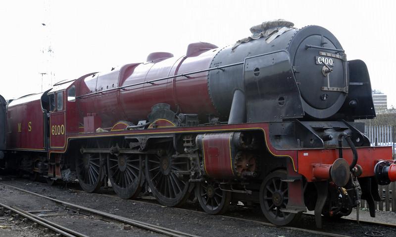 6100 Royal Scot, Crewe, Sat 12 March 2011 2