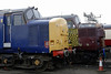 37683 & 37108, Crewe, Sat 12 March 2011