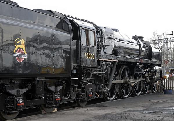 70000 Britannia, Crewe, Sat 12 March 2011 3