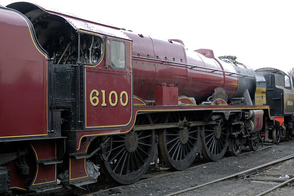 6100 Royal Scot, Crewe, Sat 12 March 2011 3