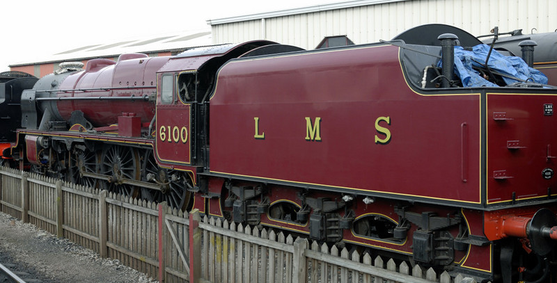 6100 Royal Scot, Crewe, Sat 12 March 2011 4