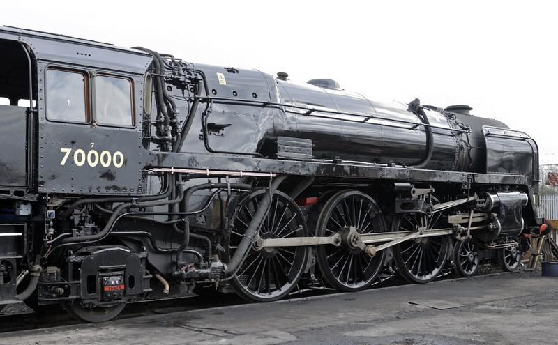 70000 Britannia, Crewe, Sat 12 March 2011 2