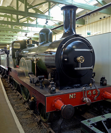 NER No 1463, Darlington North Road, 15 November 2009 1     No 1463 was the first of the 'Tennant'  class of 2-4-0s designed for express passenger duties on the East Coast main line between York and Edinburgh.  It was built in 1885 at the North Eastern's loco works at Darlington North Road.  Members of the class took part in the August 1888 races from London to Edinburgh staged by the rival East and West Coast companies.