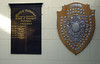 Darlington School of Transport Principals 1944 - 1986, and a 1907 NER St John's Ambulance challenge shield. Darlington North Road, 15 November 2009