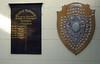 Darlington School of Transport Principals 1944 - 1986, and a 1907 NER St John's Ambulance challenge shield. Darlington North Road, 15 November 2009
