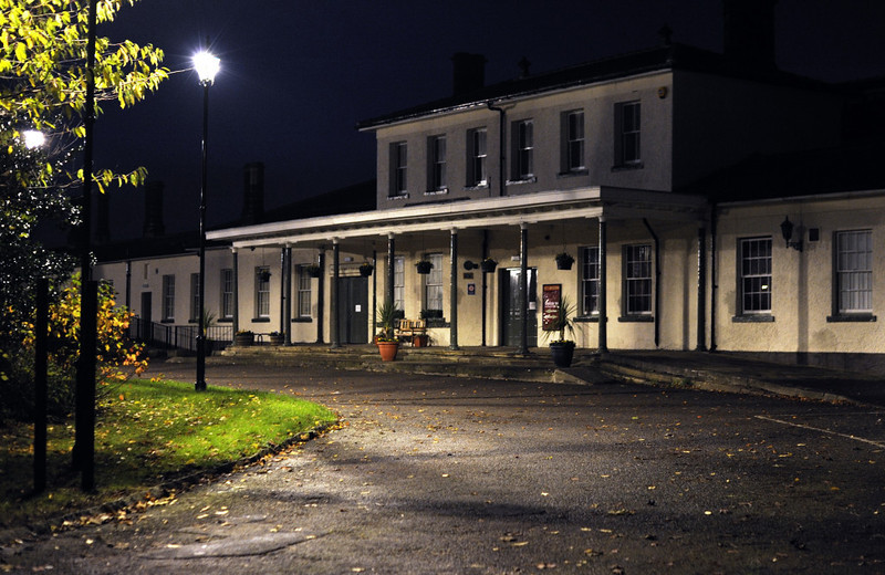 Darlington North Road nocturne, 15 November 2009      A last look at the 1842 station.  In 1975, when still under BR custody, it was described by eminent railway historian Ken Hoole as a decrepit and dirty eyesore.  Its rescue by the local authority and reuse for the museum is an especially commendable piece of preservation.