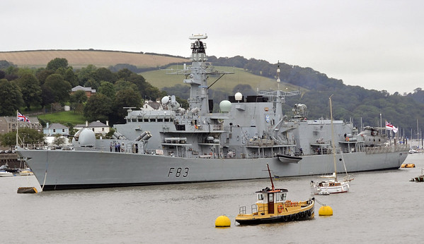 HMS St Albans, Dartmouth, Sun 2 September 2012 1.  The Type 23 frigate had been guardship for the annual regatta.