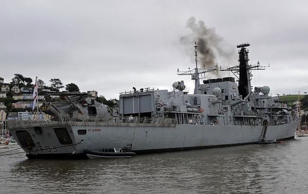 HMS St Albans, Dartmouth, Sun 2 September 2012 3.