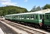 51566 & 59387, Norchard, 2 September 2017.  Class 108 DMCL & TSL.